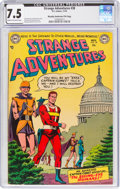 Golden Age (1938-1955):Science Fiction, Strange Adventures #38 Murphy Anderson File Copy (DC, 1953) CGC VF- 7.5 Cream to off-white pages....