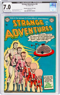 Strange Adventures #40 Murphy Anderson File Copy (DC, 1954) CGC FN/VF 7.0 Cream to off-white pages
