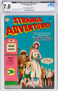 Strange Adventures #51 Murphy Anderson File Copy (DC, 1954) CGC FN/VF 7.0 Cream to off-white pages