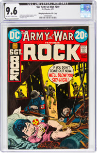 Our Army at War #249 Murphy Anderson File Copy (DC, 1972) CGC NM+ 9.6 Off-white to white pages