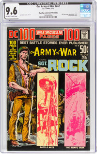 Our Army at War #242 Murphy Anderson File Copy (DC, 1972) CGC NM+ 9.6 Off-white to white pages