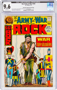 Our Army at War #243 Murphy Anderson File Copy (DC, 1972) CGC NM+ 9.6 White pages
