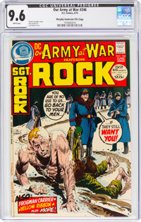 Our Army at War #246 Murphy Anderson File Copy (DC, 1972) CGC NM+ 9.6 White pages