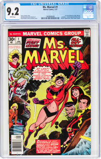 Ms. Marvel #1 (Marvel, 1977) CGC NM- 9.2 White pages