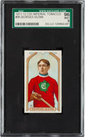 Hockey Cards:Singles (Pre-1960), 1911 C55 Georges Vezina #38 SGC 96 Mint 9 - The Finest Example Known In the Hobby!...