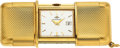 Timepieces:Other , Movado, 18k Gold Ermeto With Date, circa 1960's. ...