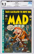 Golden Age (1938-1955):Humor, MAD #5 Gaines File Pedigree (EC, 1953) CGC NM- 9.2 White pages....