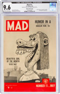 Golden Age (1938-1955):Humor, MAD #11 Gaines File Pedigree (EC, 1954) CGC NM+ 9.6 Off-white to white pages....