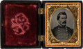 Political:Miscellaneous Political, George McClellan: Sixteenth Plate Tintype....
