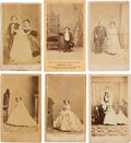 Photography:CDVs, Little People: Six Different CDV's....