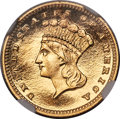 Proof Gold Dollars, 1885 G$1 PR67 Ultra Cameo NGC. CAC. JD-2, R.5....