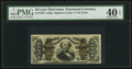 Fractional Currency:Third Issue, Fr. 1338 50¢ Third Issue Spinner PMG Extremely Fine 40 EPQ.. ...
