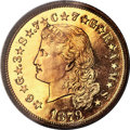 Proof Four Dollar Gold Pieces, 1879 $4 Flowing Hair, Judd-1635, Pollock-1833, JD-1, R.3, PR65 Deep Cameo PCGS. CAC....
