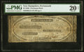 Obsoletes By State:New Hampshire, Portsmouth, NH- Piscataqua Bank $2 May 1, 1844 G18 PMG Very Fine 20 Net.. ...