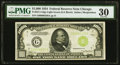 Small Size:Federal Reserve Notes, Fr. 2211-G $1,000 1934 Light Green Seal Federal Reserve Note. PMG Very Fine 30.. ...