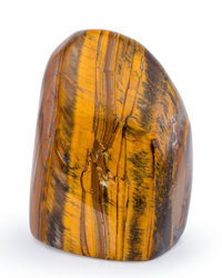 Tiger's-Eye Free-Form South Africa 2.91 x 2.20 x 1.76 inches (7.39 x 5.60 x 4.47 cm)