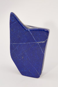 Lapis Free-Form Afghanistan 6.69 x 3.74 x 1.84 inches (17.00 x 9.50 x 4.68 cm)