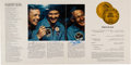 Explorers:Space Exploration, Apollo 11 Crew-Signed Hubbard Medal Award Program, Obtained by a Member of Their Security Detail. ...