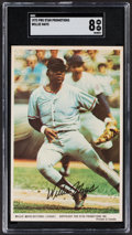 Baseball Cards:Singles (1970-Now), 1972 Pro Star Promotions Willie Mays SGC NM/MT 8....