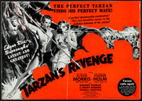"Tarzan's Revenge (20th Century Fox, 1938). Folded, Fine. Partial Uncut Pressbook (8 Pages, 21.75"" X 15""). Adve..."