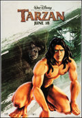 """Movie Posters:Animation, Tarzan (Buena Vista, 1999). Rolled, Fine+. Trimmed Bus Shelter (48"""" X 69.25"""") DS, Advance. Animation.. ..."""