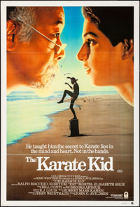 """The Karate Kid & Other Lot (Columbia, 1984). Folded, Fine/Very Fine. Australian One Sheets (3) (27"""" X 40"""")..."""