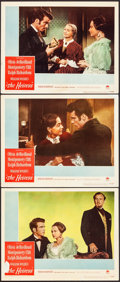 """Movie Posters:Drama, The Heiress (Paramount, 1949). Fine/Very Fine. Lobby Cards (3) (11"""" X 14""""). Drama.. ... (Total: 3 Items)"""