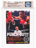 Video Games:Nintendo, Mike Tyson's Punch-Out!! [Second Version, Includes Letter] Wata 7.5 CIB NES, Nintendo, 1987, USA....