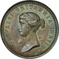 """World Lots, World Lots: """"Capture of Belle Isle"""" bronze Medal 1758 MS63 Brown NGC,..."""