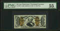 Fractional Currency:Third Issue, Fr. 1334 50¢ Third Issue Spinner PMG About Uncirculated 55.. ...