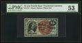 Fractional Currency:Fourth Issue, Fr. 1271 15¢ Fourth Issue PMG About Uncirculated 53.. ...