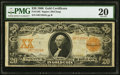 Large Size:Gold Certificates, Fr. 1183 $20 1906 Gold Certificate PMG Very Fine 20.. ...