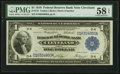 Fr. 719 $1 1918 Federal Reserve Bank Note PMG Choice About Unc 58 EPQ