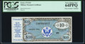 Military Payment Certificates:Series 472, Series 472 $10 PCGS Very Choice New 64PPQ.. ...