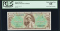 Military Payment Certificates:Series 541, Series 541 $10 PCGS Choice About New 55. One o...