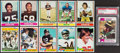 Football Cards:Lots, 1968-1981 Topps Football Collection (1500+)....