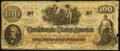 Confederate Notes:1862 Issues, CT41/315 Counterfeit $100 1862 Very Good-Fine.. . ...