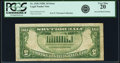 Fr. 1528 $5 1928C Legal Tender Note. PCGS Very Fine 20