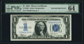 Error Notes:Inverted Reverses, Fr. 1606 $1 1934 Silver Certificate. PMG Choice Uncirculated 64 EPQ.. ...