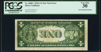 Fr. 1608* $1 1935A Silver Certificate. PCGS Very Fine 30