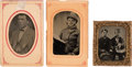 Photography:Tintypes, Ulysses S. Grant: Three Rare Tintype Campaign Images.. ...
