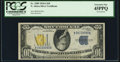Error Notes:Inverted Reverses, Fr. 2309 $10 1934A North Africa Silver Certificate. PCGS Extremely Fine 45PPQ.. ...