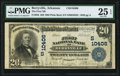 Berryville, AR - $20 1902 Plain Back Fr. 656 The First National Bank Ch. # (S)10406 PMG Very Fine 25 EP