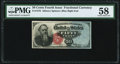 Fr. 1376 50¢ Fourth Issue Stanton PMG Choice About Unc 58