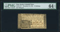 Colonial Notes:New Jersey, New Jersey December 31, 1763 15s PMG Choice Uncirculated 64 EPQ.. ...