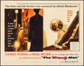 """Movie Posters:Hitchcock, The Wrong Man (Warner Brothers, 1957). Rolled, Very Fine-. Half Sheet (22"""" X 28""""). Hitchcock.. ..."""