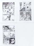 Original Comic Art:Panel Pages, Dame Darcy Tomorrow Stories #9 Pages 2 -4 Original Art Group of 3 (America's Best Comics, 2001).... (Total: 3 Original Art)