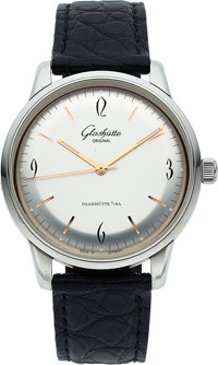 Glashutte Original, Senator Sixties, Stainless Steel, Circa 2009