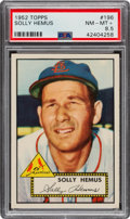 Baseball Cards:Singles (1950-1959), 1952 Topps Solly Hemus #196 PSA NM-MT+ 8.5. ...