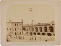 Photography:Cabinet Photos, [Fort Sumter]. Two Large Photographs of Fort Sumter, Including One from April 15, 1861, the Day after Major Anderson's Surrend... (Total: 2 Items)